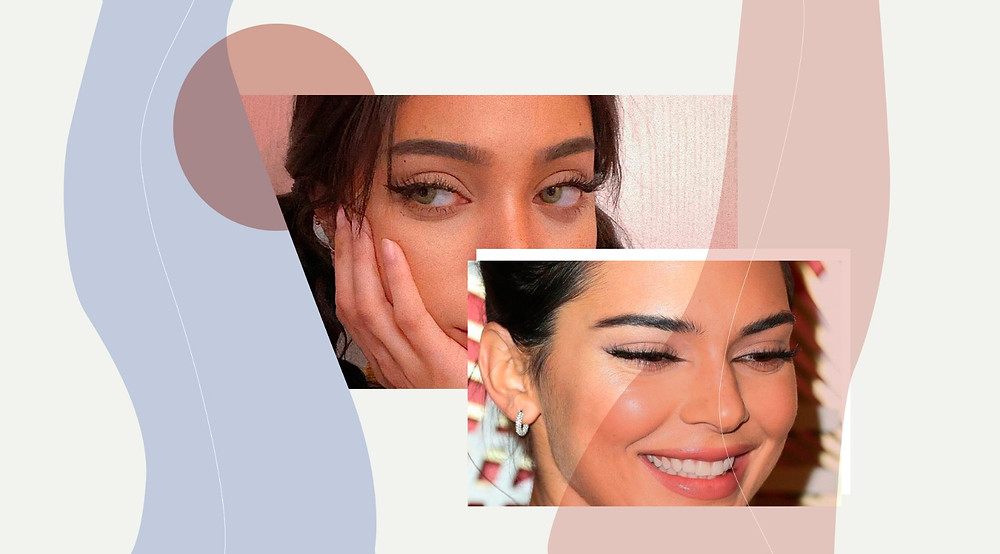 Kendall Jenner brows