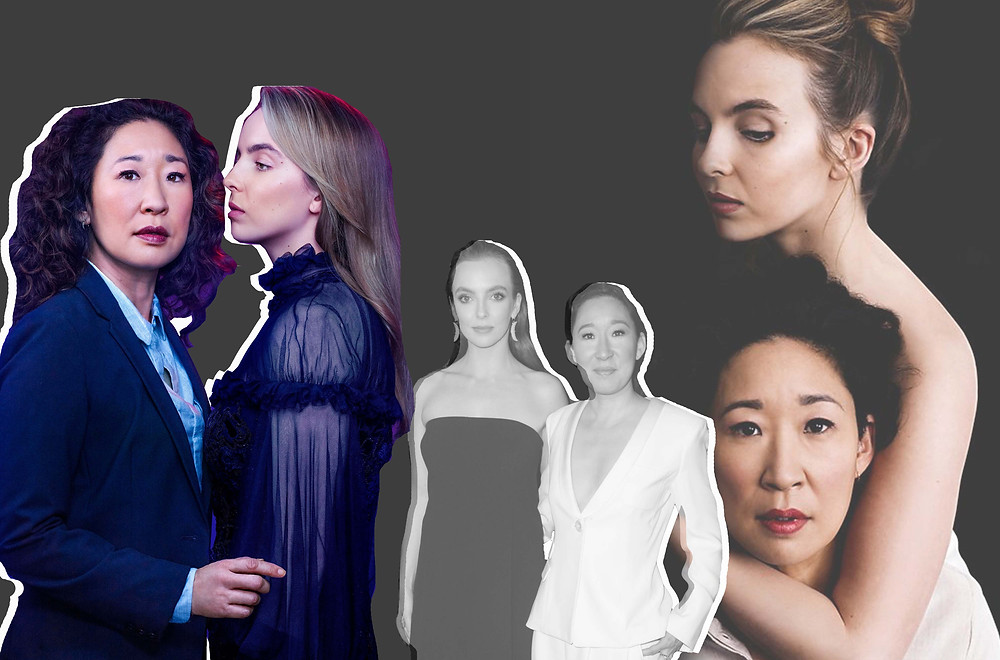 Sandra Oh and Jodie Comer from Killing Eve