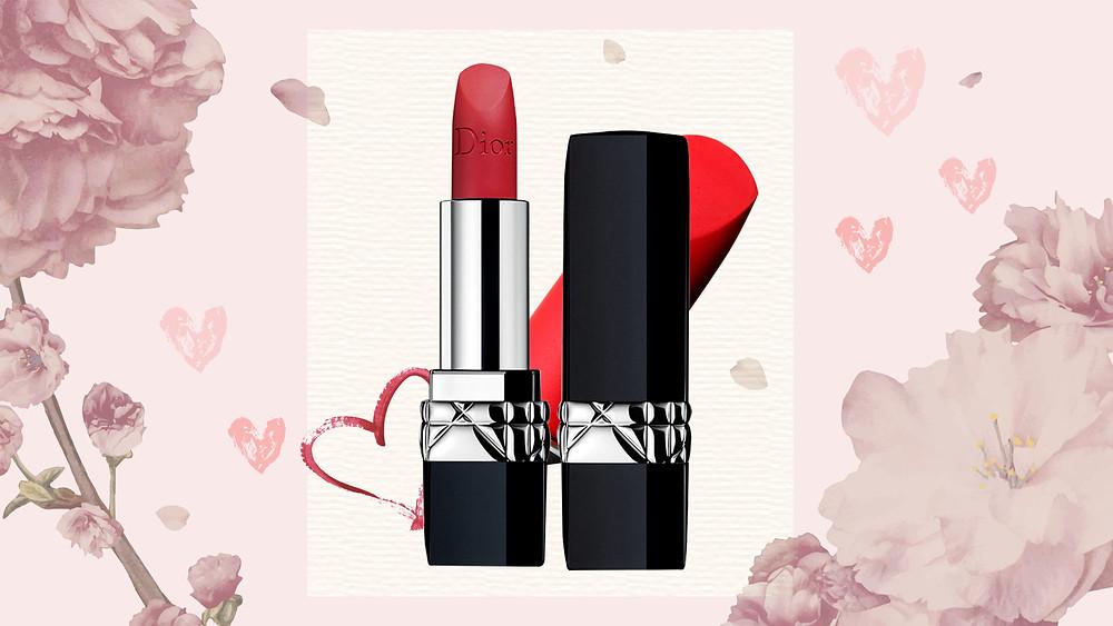Dior Rouge Lipstick '999'