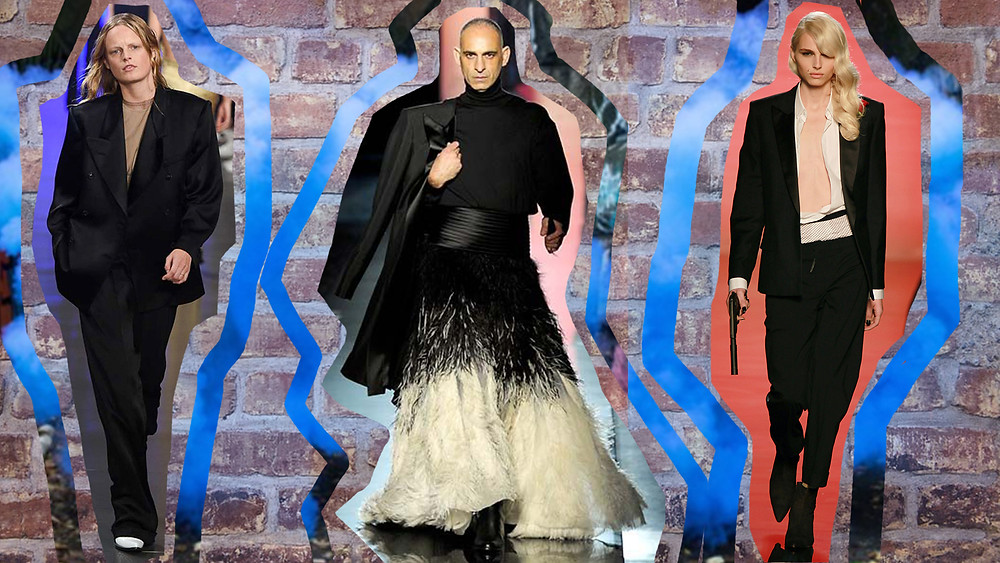 Jean-Paul Gaultier and John Galliano