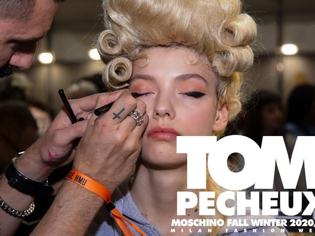 Tom Pecheux for Moschino Fall Winter 2020 2021 Milan Fashion Week