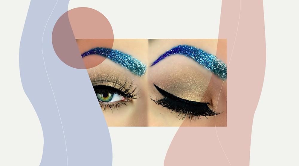 Glitter brows - Level 2