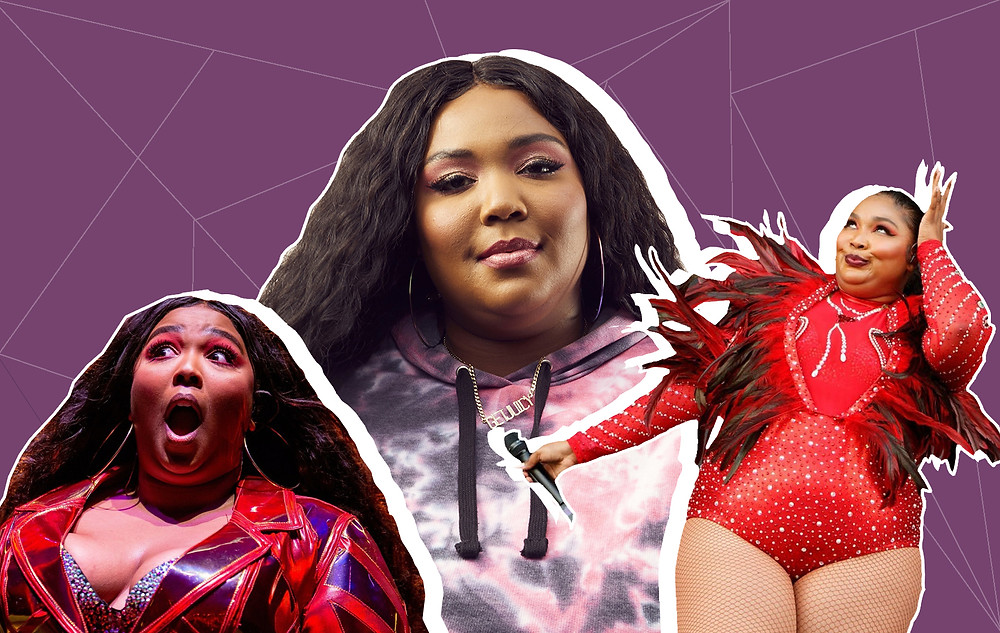 Collage of Lizzo