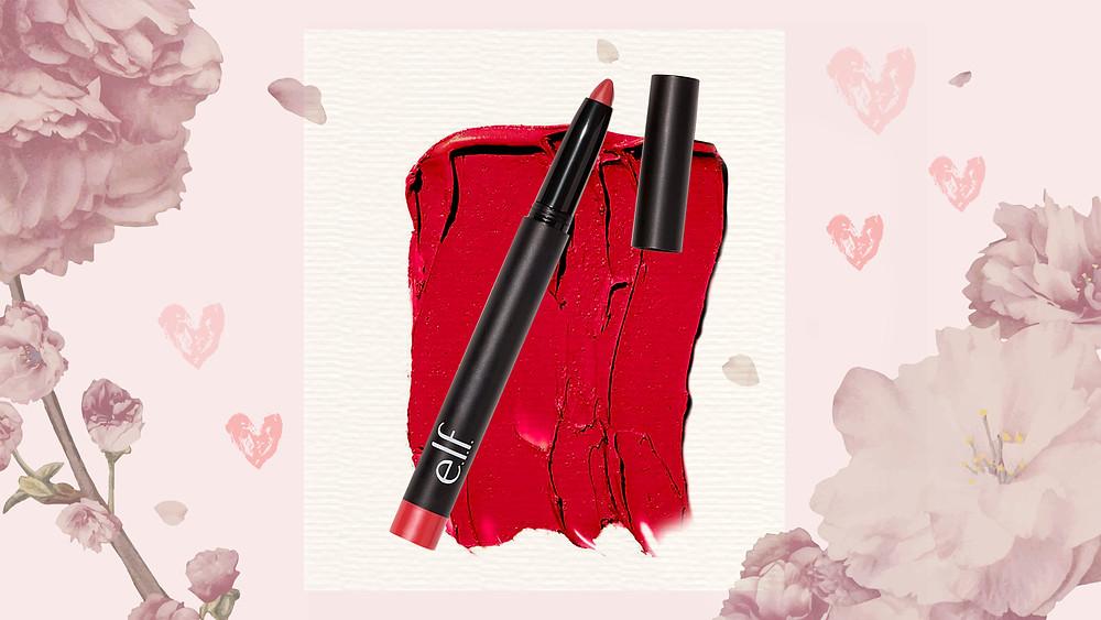 E.L.F Matte Lip Color 'Rich Red'