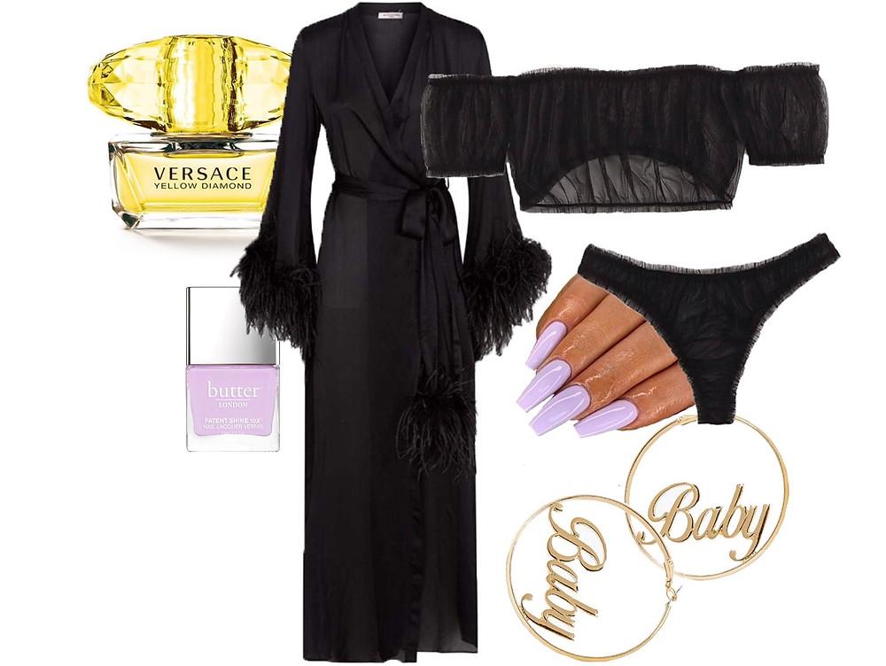 Gilda & Pearl, Shein, Ebay, Versace and Butter London