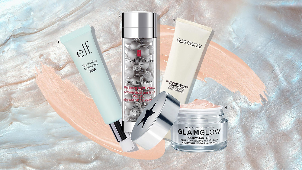 e.l.f., Elizabeth Arden, Laura Mercier and Glam Glow