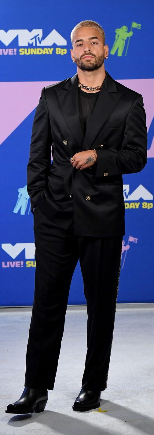 Maluma Jeff Kravitz VMA 2020