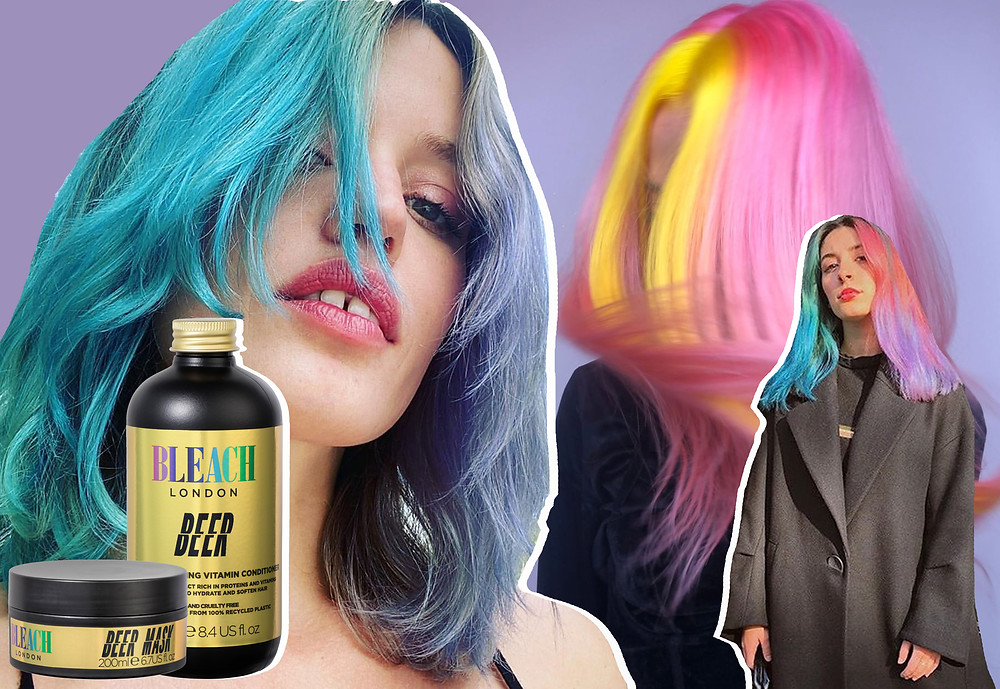 Bleach London, Beer conditioner and Beer Hair mask