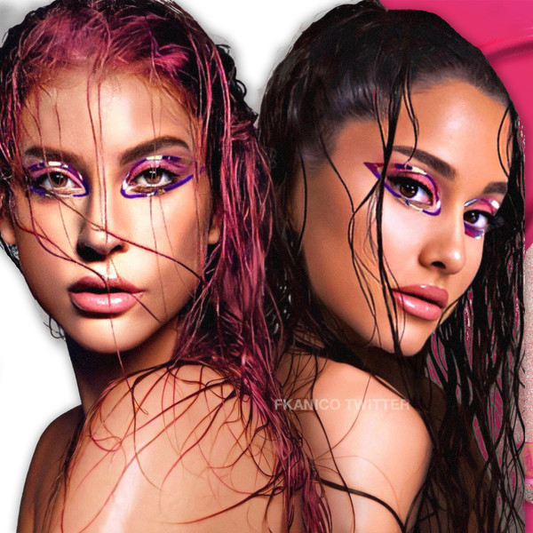 Lady Gaga and Ariana Grande Trend Dripping in Latex With Their New Single Rain on Me
