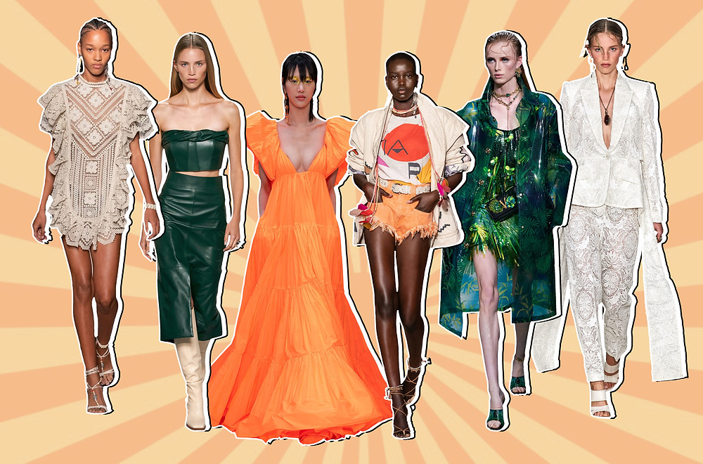 Isabel Marant, Givenchy, Valentino, Versace and Alexander McQueen