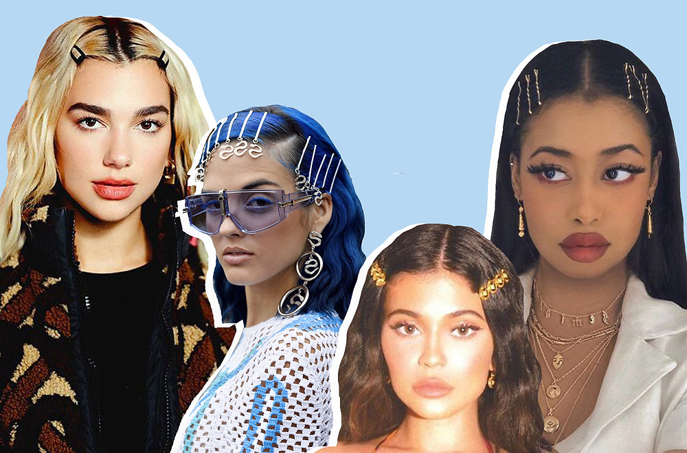Dua Lipa, Sita Abellan, Kylie Jenner and @stylewithsamira on tiwtter