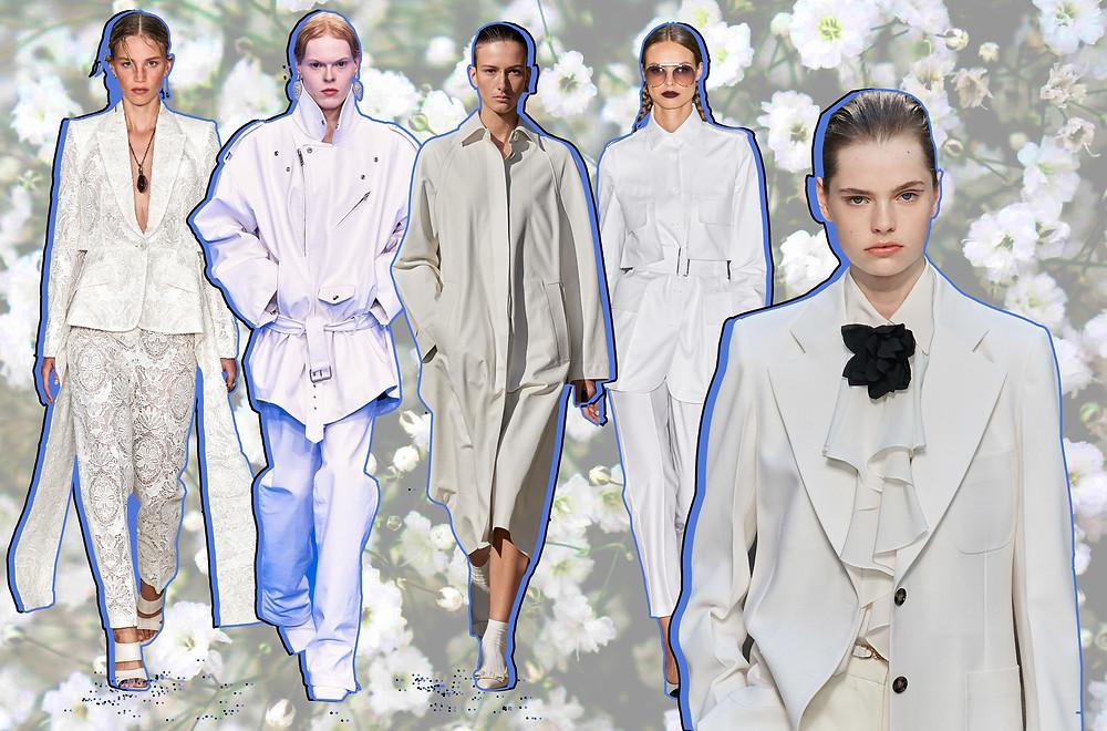 Victoria Beckham, Salvatore Ferragamo, Max Mara, Balenciaga and Alexander McQueen