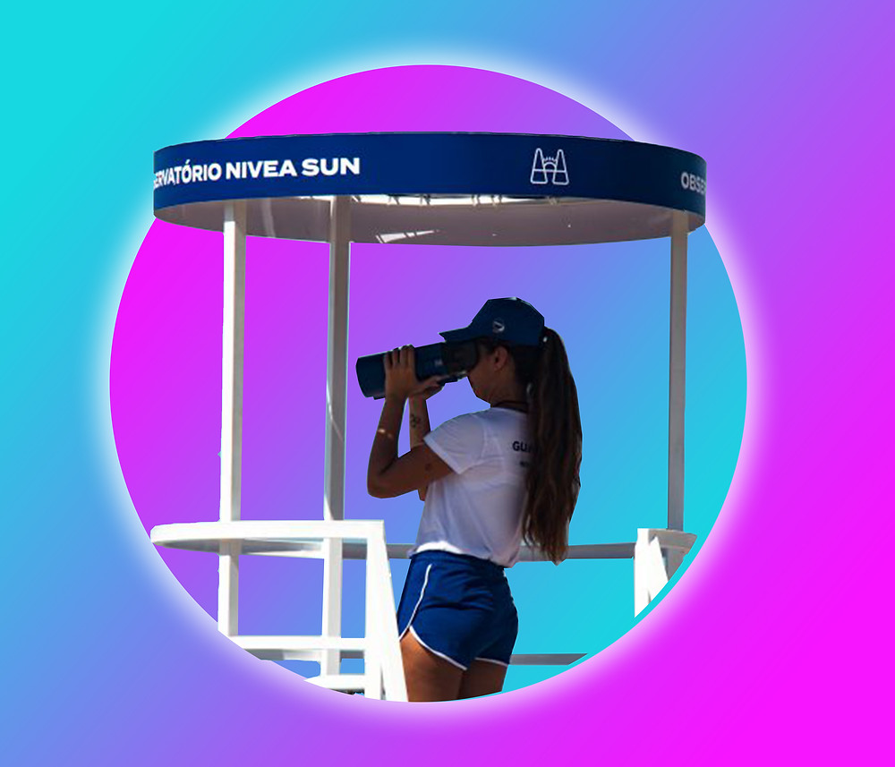 Nivea: Sun Binoculars, June 2019
