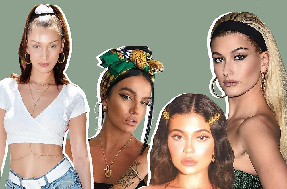 Bella Hadid, @stylefashionmilan on Instagram, Kylie Jenner and Hailey Beiber