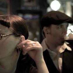 Hannah & Michael at the pub