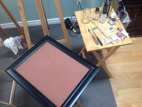 Making a glass palette