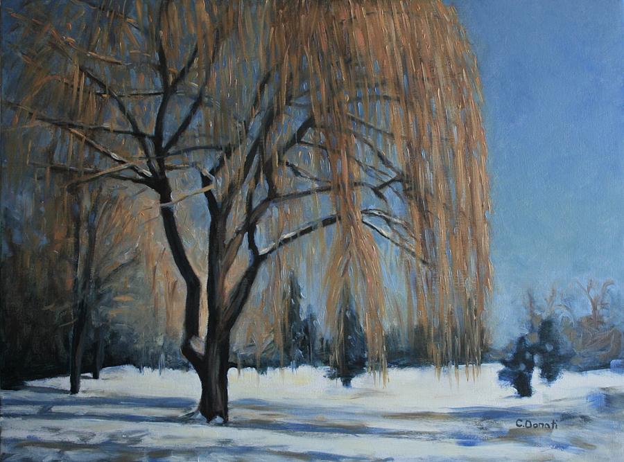 Glittering Willow Tree