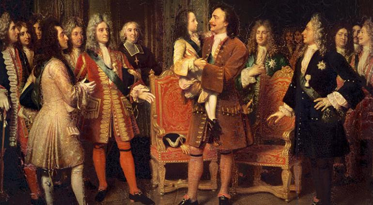 Ambassade de Pierre le Grand en France (1717) :