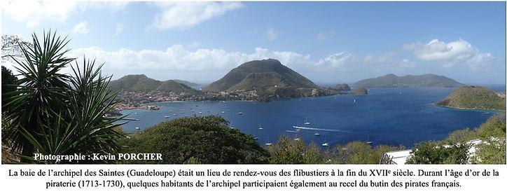 baie de l'archipel des Saintes en Guadeloupe