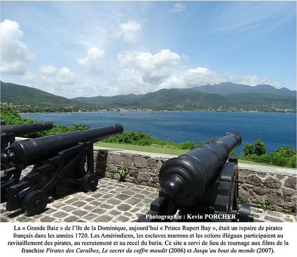 Grande Baie île de la Dominique
