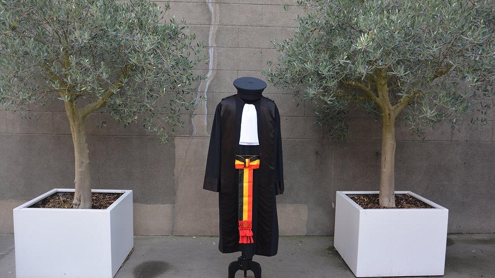Consulair rechter toga ceremonie