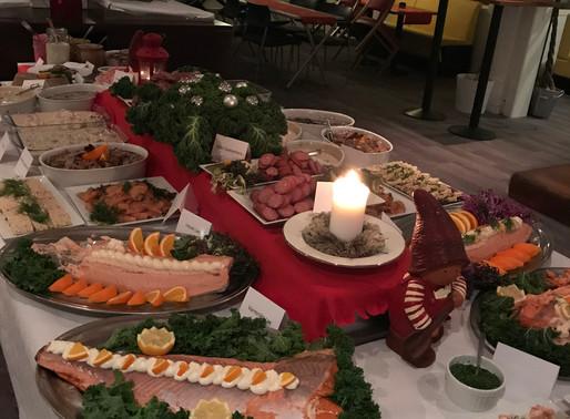 Så trevligt hade vi det vid årets julbord på Hamra Golfkrog!