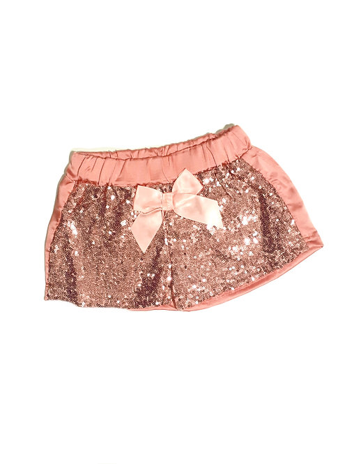 Pink Blinged out Shorts