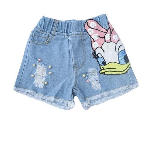 Daisy Duck Shorts