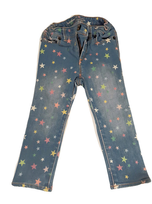 Colorful Star Jeans