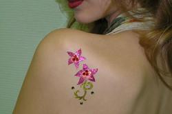 Adult Glitter Tattoos