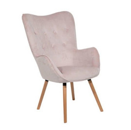 Furniture - Blush Wingback Chair