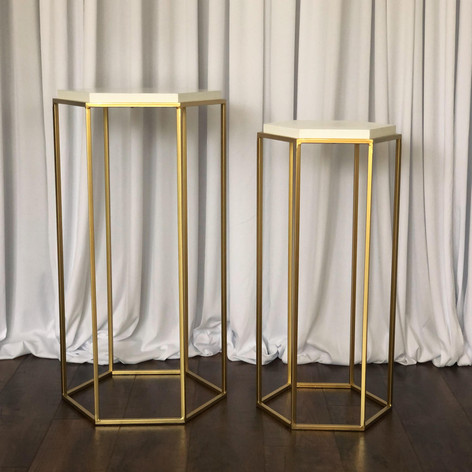 Furniture - Gold Geo Stand