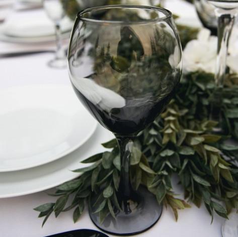 Smoky Wine Glass