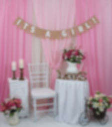 Pink Baby Shower Package