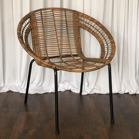 Furniture - Woven Basket Chair