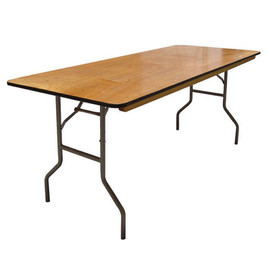 """6'x30"""" Banquet Table - $9"""