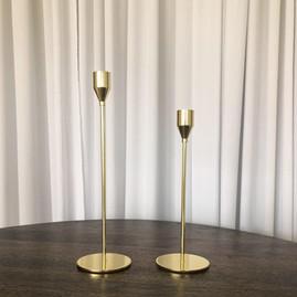 Gold Candle Holder (Sm) - $2.50