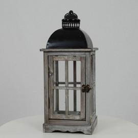 Black Top Lantern - $10
