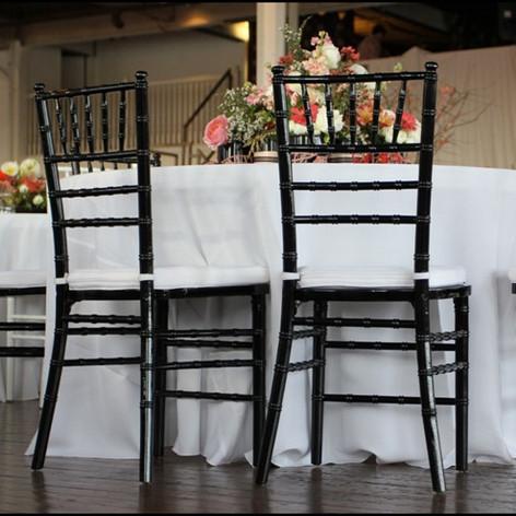Black Chiavari Chair - $4