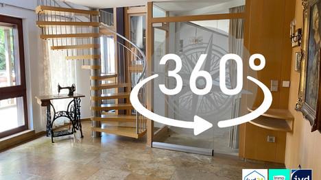 Luxus Maisonetten-Appartement mit Garten, Garage und grandioser Ausstattung in Bestlage