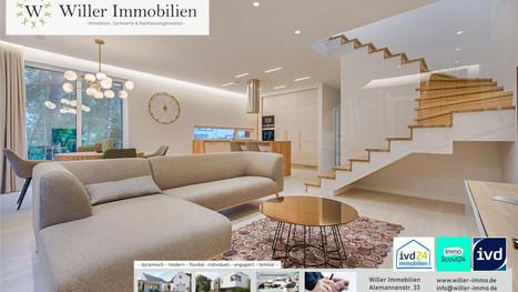 Top renovierte 4-Zimmer Maisonettwohnung. +Wohntraum pur +