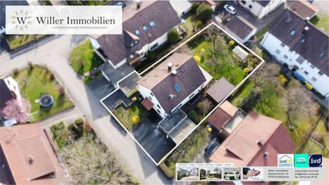 Großzügiges 2-Familienhaus mit traumhaftem Garten in toller Wohnlage.