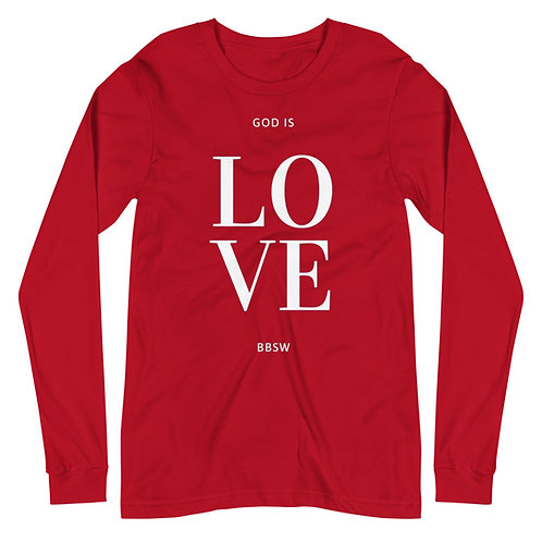God is LOVE BBSW Long Sleeve Tee