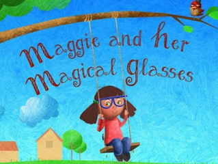 Maggie and Her Magical Glasses - Jumping Pages