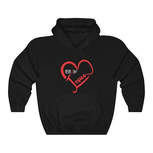 BBSW - Love Jesus Heavy Blend™ Hooded Sweatshirt