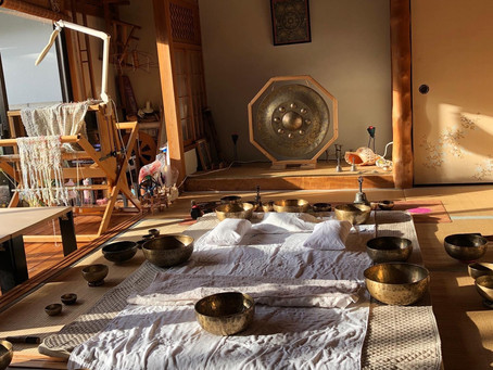 Tibetan Singingbowl 個人セッション