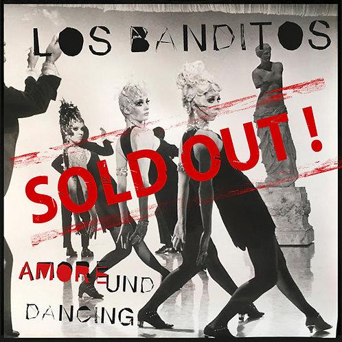"""Vinyl 7"""" Los Banditos - Amore & Dancing inkl. Totenkopf-PUK"""
