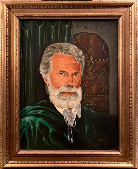 Autoportrait figuratif