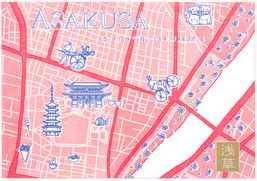 Map of Asakusa