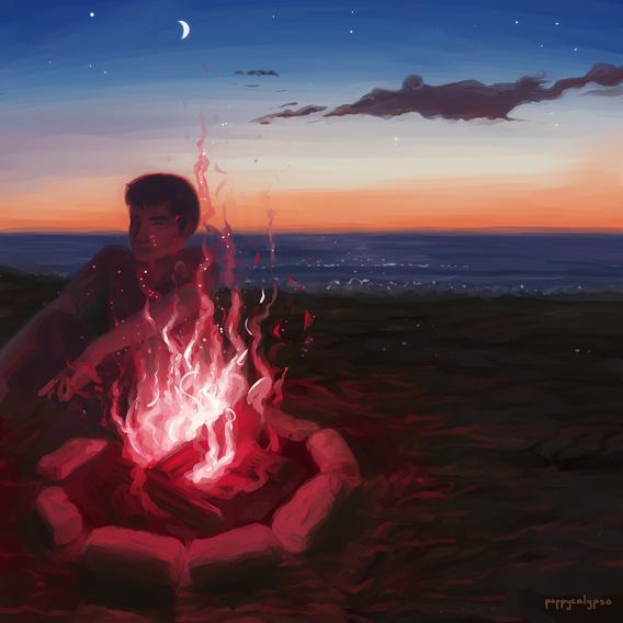 Late bonfires